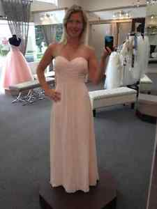 2 Bill Levkoff Bridesmaid Dresses style 976 in Petal Pink