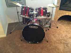 5 piece mapex Voyager drum set