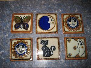 6 Gorgeous Brand New Artistic Small Decor Tiles