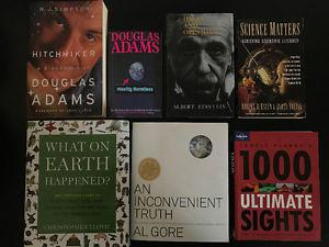 60 Books - $2 each - Universe / Science / New Mothers /