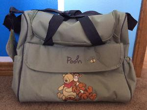 Brand New With Tags Winnie The Pooh Diaper Bag