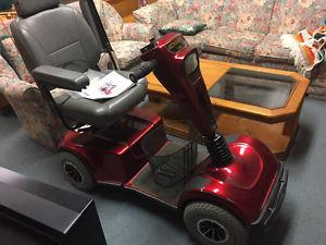 Celebrity XL Pride Mobility scooter priced to sell!