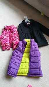 Girls fall jacket/vest