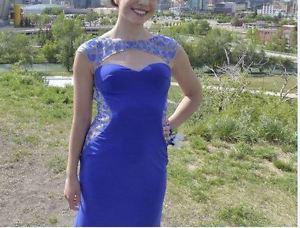 Gorgeous designer grad dress/evening gown by La Femme