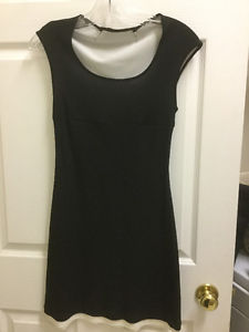 Guess Black with White Dress