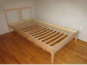 Fjellse Bed Frame Pine Twin