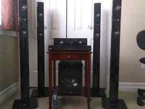 LG 3D SURROUND SOUND HOME THEATRE SYSTEM