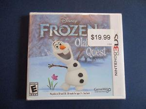 New Disney Frozen Olaf's Quest 3DS