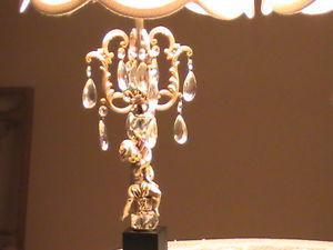 PAIR OF VINTAGE RETRO CUPID ANGEL TABLE LAMPS