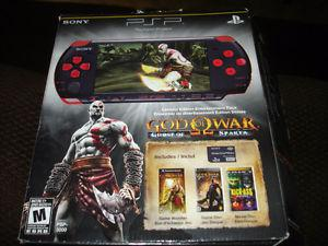 PSP w/ 2 GIG Memory Stick & Power Cords ETC.. / 2 Games