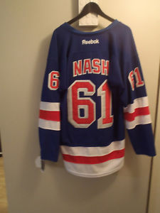 Rangers Nash Jersey New!!