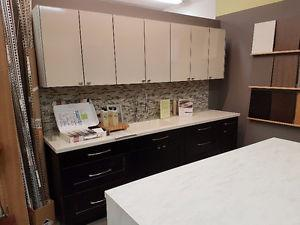 Showroom Kitchen Cabinets For Sale - Modern