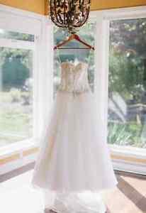 Stella York wedding dress gown