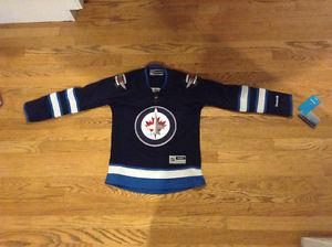 Womens XSmall Winnipeg Jets Jersey New With Tags