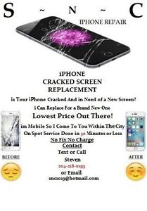 iPhone 6 Plus Screen Repair (WE COME TO YOU)