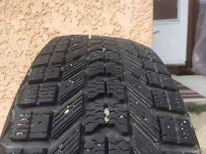 2 winter tires for sale