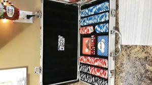 300 piece WPT poker set chips