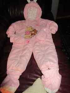 Adorable pink Winnie the Pooh snowsuit  months