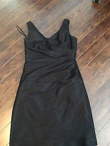 Alfred Sung Black Designer Dress