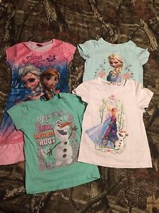 Girls FROZEN clothing Size 5T