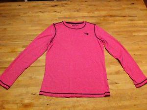 Girls long sleeve athletic top and fleece hoodie size