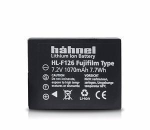 HAHNEL LI-ION BATT HL-F126 equivalent to FUJI NP-W126
