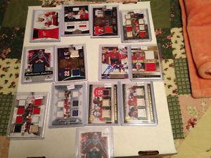 High end hockey cards for sale