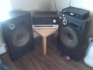 Home stereo for sale