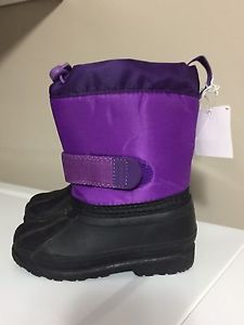 Joe Fresh toddler size 6 winter boots - new with tags