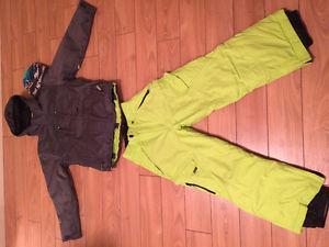 Junior ski jacket and pants