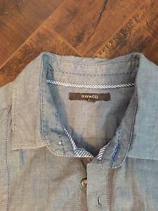 Men's RW& Co Casual dress shirt