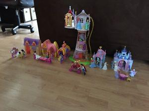 Miniature Disney Princess Sets