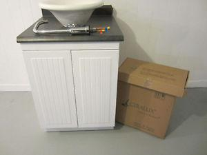 NEW Bathroom Vanity Cabinet Top,sink and Faucet Tap