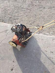 Old gas powered reel mower
