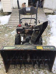 Snowblower 10.5 x 30 in. Cut yardworks