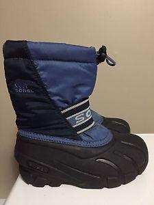 Sorel toddler size 11 boots