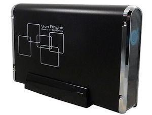 SunBright 3.5inch eSATA HDD Enclosure