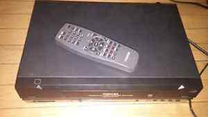 Toshiba VCR player and remote with 50plus action films