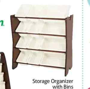 Wanted: ISO Storage Organizer with bins for kids toys