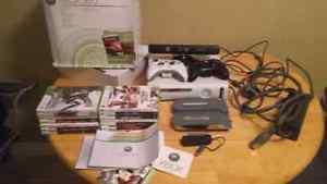 Xbox360 console and accessories