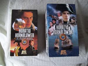 2 Sets - Horatio Hornblower - VHS Tapes