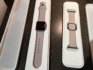 38 mm Rose Gold Apple Watch Sport