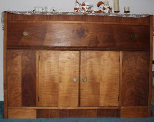 Antique Art Deco cabinet