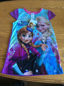 Brand New Tags Still Attached Disney FROZEN Nighty Size 2T