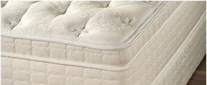 Brand new plush pillow top mattress and base-unbeatable