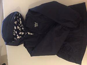 Fleece lined jacket