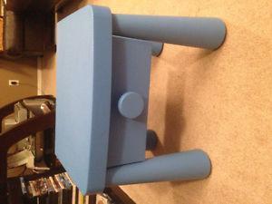 IKEA Kids Bedside Table (Blue)