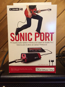 Line 6 Sonic Port for Iphone Ipad or Ipod