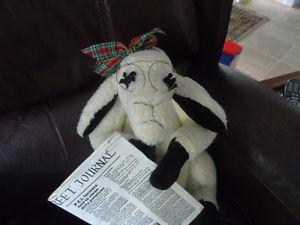MRS. SHEEP READING THE ISLAND JOURNAL ON P.E.I.