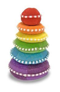 Melissa & Doug Soft Rainbow Stacker Educational Toy